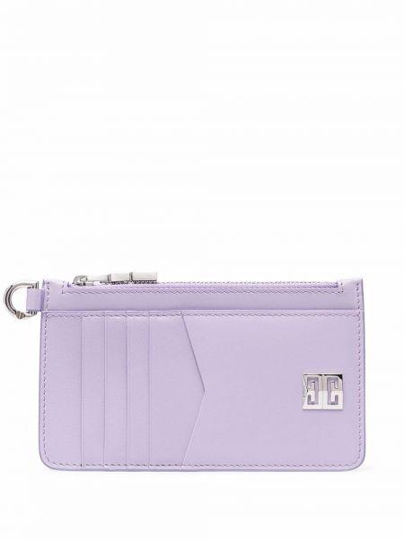 Фиолетовый кошелек металлический Givenchy