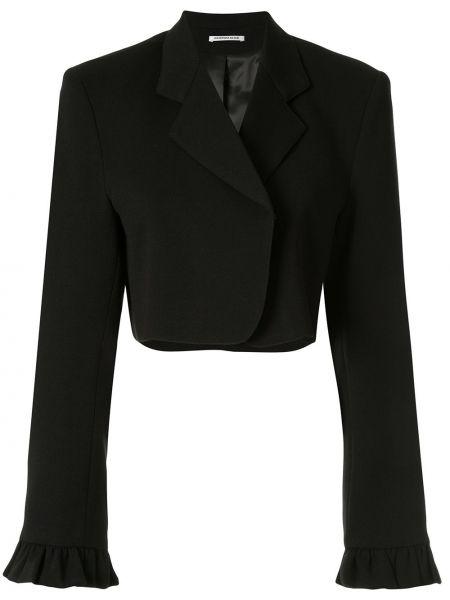 Открытый черный пиджак из вискозы Georgia Alice