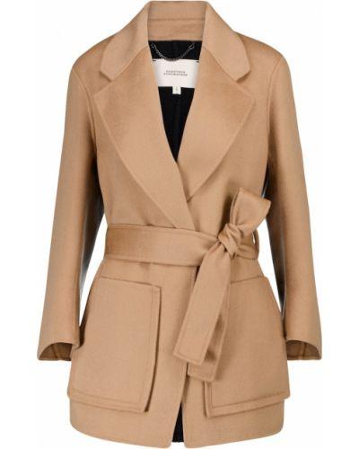 Шерстяное бежевое пальто Dorothee Schumacher