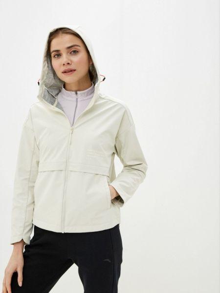 Белая облегченная куртка Anta