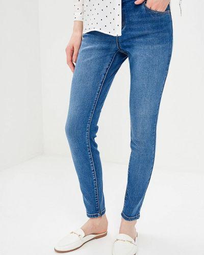 Синие джинсы-скинни Incity