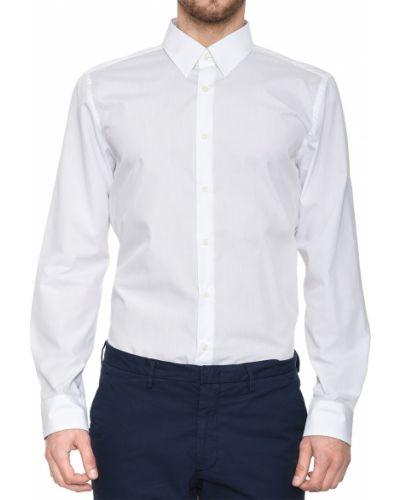 Хлопковая рубашка - белая Joop!