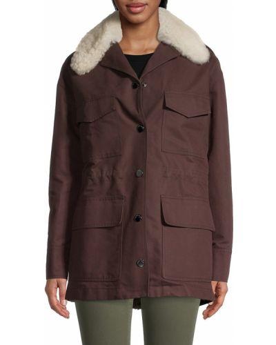 Плюшевая куртка Longchamp