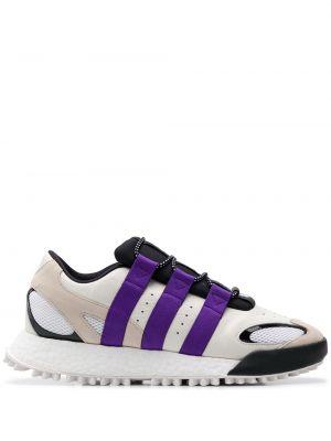 Кожаные кроссовки текстильные Adidas Originals By Alexander Wang