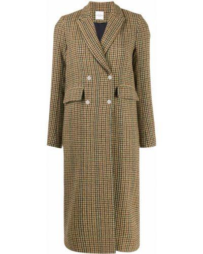 Длинное пальто с капюшоном на пуговицах Roseanna