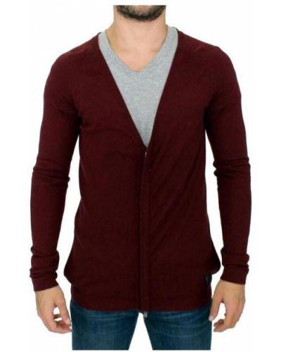 Wełniany sweter z kieszeniami z zamkiem błyskawicznym Costume National