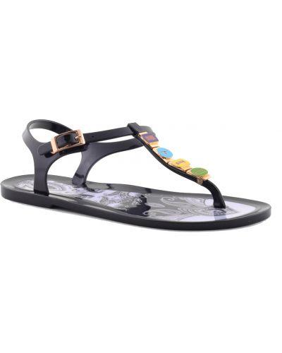 Черные сандалии Etro