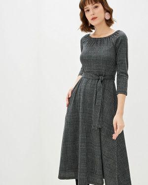 Платье серое прямое With&out