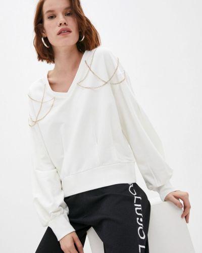 Белая зимняя свитшот Liu Jo Sport