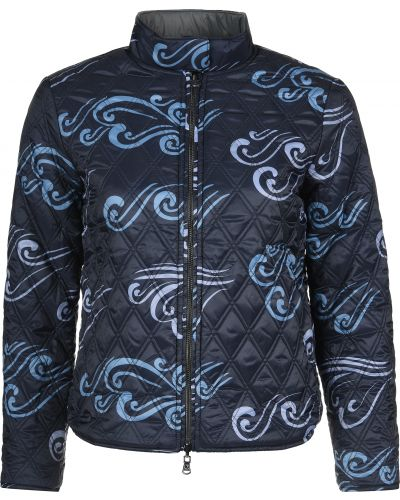 Куртка из полиамида - синяя Emporio Armani