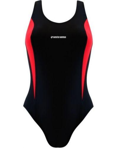 Спортивный купальник - черный Sesto Senso
