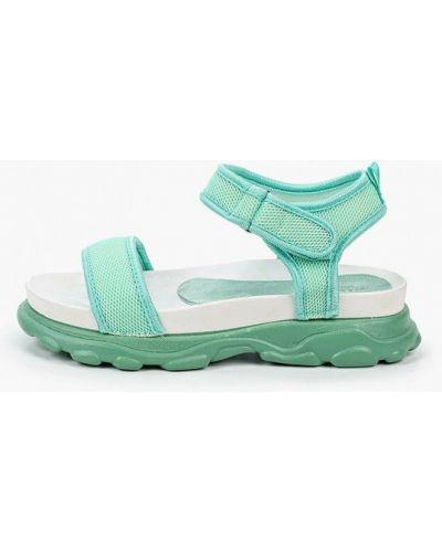 Текстильные зеленые сандалии La Bottine Souriante
