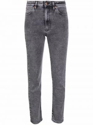 Серые джинсы на пуговицах 3x1