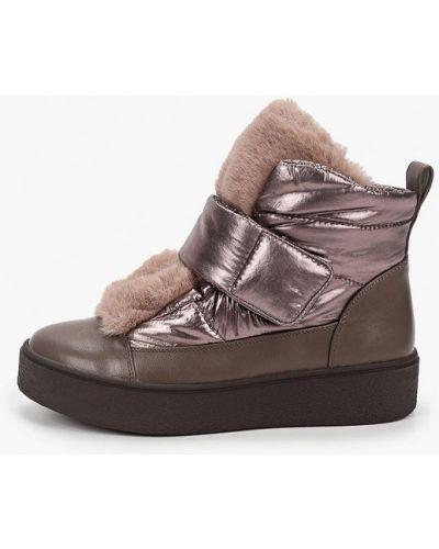 Коричневые кожаные ботинки Lolli L Polli