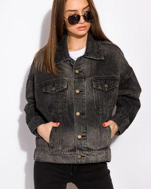 Джинсовая куртка с поясом Time Of Style