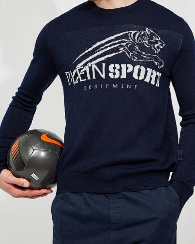 Синий джемпер Plein Sport