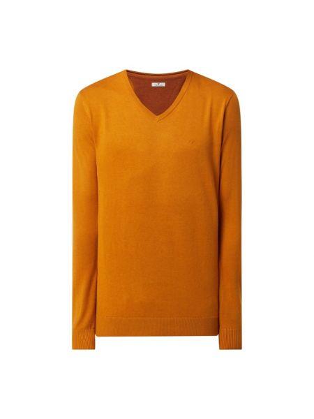 Sweter z dekoltem w serek - żółty Tom Tailor