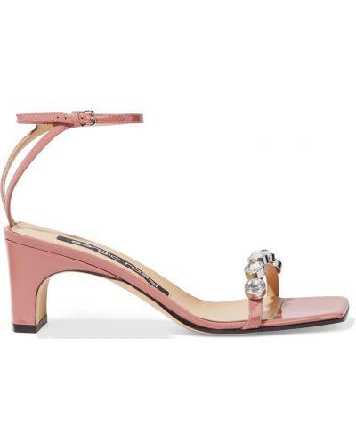 Sandały z klamrą Sergio Rossi
