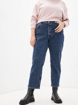 Синие зимние джинсы Violeta By Mango