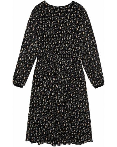 Платье миди шифоновое расклешенное Essentiel Antwerp