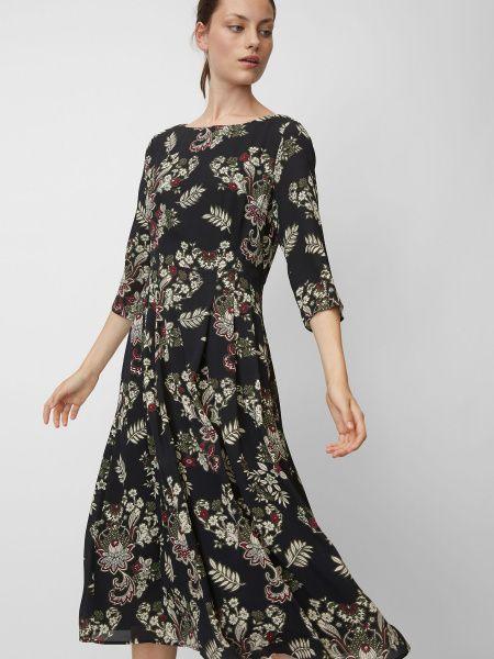 Текстильное повседневное платье-рубашка для офиса Marc O'polo
