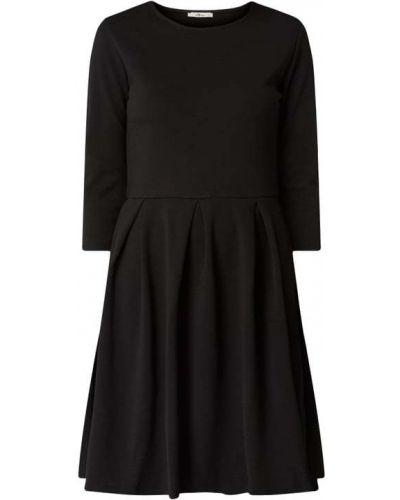 Czarna sukienka z wiskozy Ltb