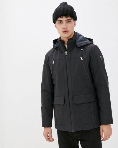 Утепленная синяя куртка Enrico Cerini