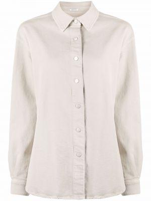 Серая рубашка с манжетами Closed