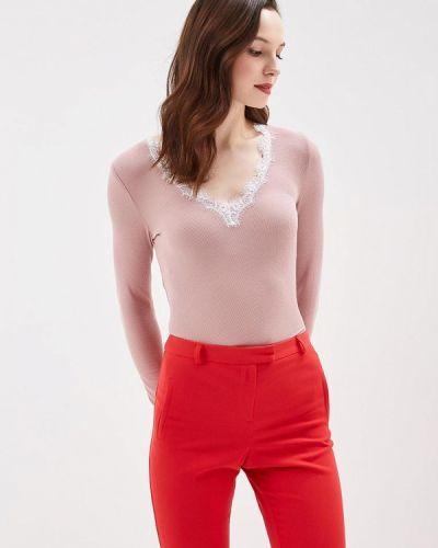 Розовый лонгслив Jacqueline De Yong