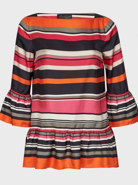 Шелковая блузка с подкладкой Luisa Spagnoli
