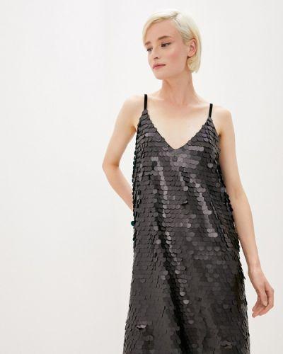 Черное вечернее платье Anastasya Barsukova