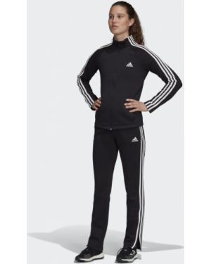 Черный спортивный костюм Adidas