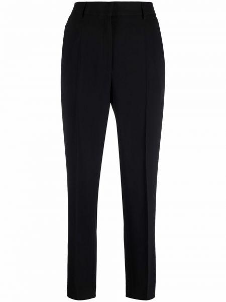 Spodnie z wiskozy - czarne Mm6 Maison Margiela