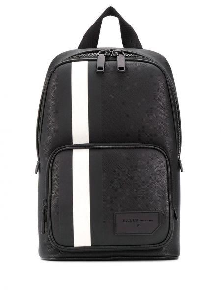 Рюкзак с карманами - черный Bally