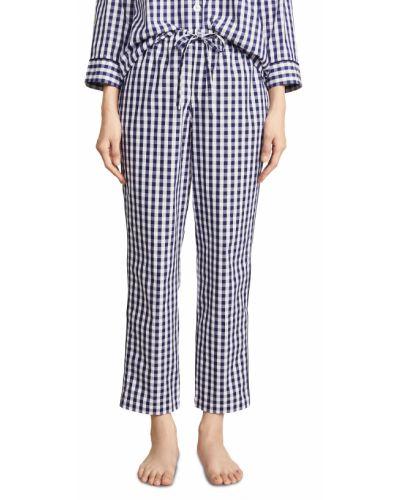 Пижамные хлопковые брюки на резинке Sleepy Jones