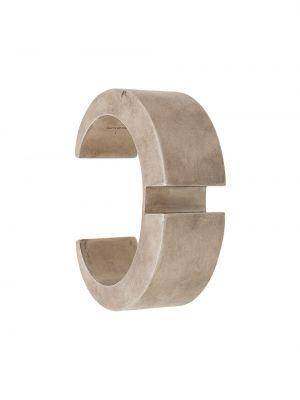 Золотистый желтый браслет металлический без застежки Parts Of Four