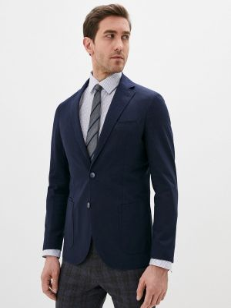 Синий костюм Cortefiel
