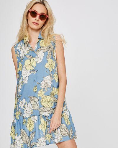 Платье мини свободного кроя в полоску Answear