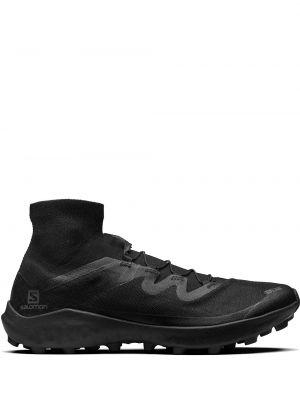 Высокие кроссовки - черные Salomon S/lab