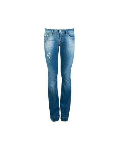 Синие джинсовые брюки Don't Cry
