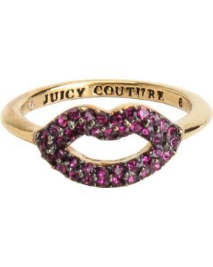 Кольцо из золота с декоративной отделкой Juicy Couture