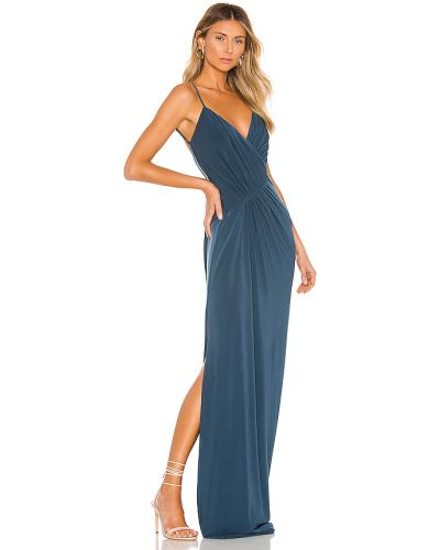 Niebieska sukienka na wesele Katie May