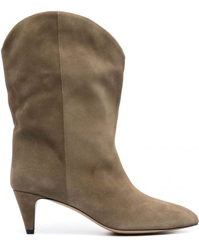 Ankle boots, zielony Isabel Marant