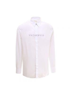 Biała koszula bawełniana - biała Givenchy