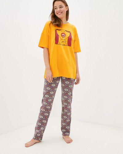 Пижамная желтая пижама Hays