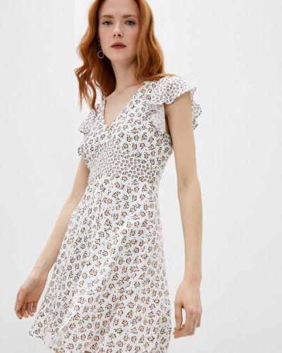 Повседневное белое платье French Connection