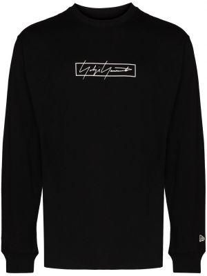 Czarna t-shirt bawełniana Yohji Yamamoto