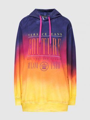 Разноцветное худи Versace Jeans Couture