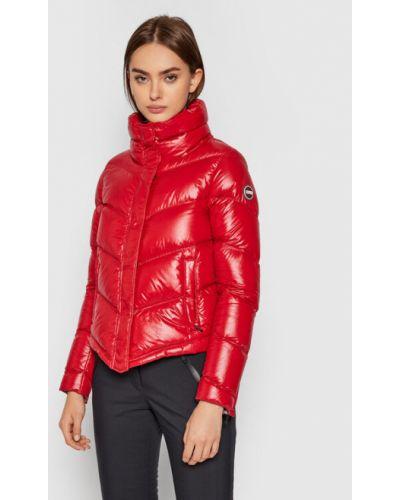 Czerwona kurtka puchowa Colmar