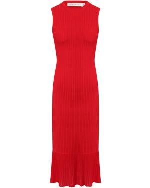 Платье на резинке из вискозы Victoria Beckham